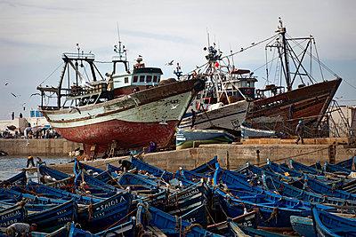 Im Hafen von Essaouira - p382m1194966 von Anna Matzen