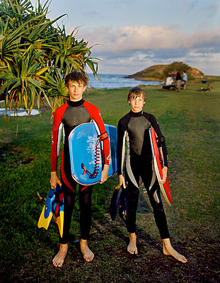 Young surfers - p1125m918036 by jonlove