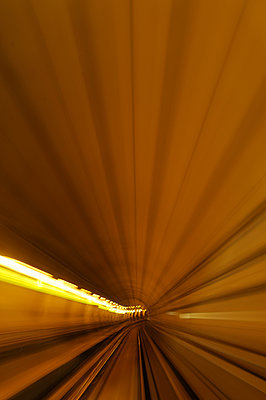 Subway tunnel - p470m934132 by Ingrid Michel