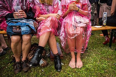 Regen macht uns nichts - p858m1475064 von Lucja Romanowska