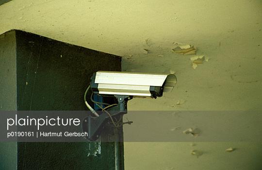Überwachungskamera - p0190161 von Hartmut Gerbsch