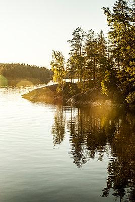 Evening at the lake - p971m1461282 by Reilika Landen