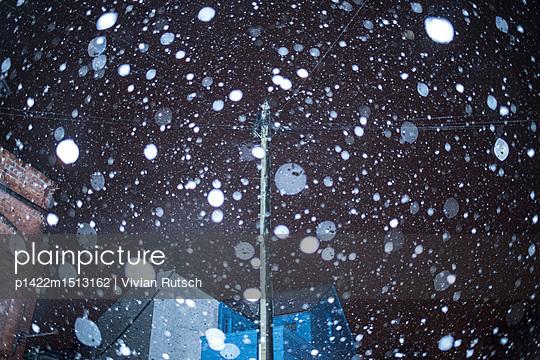 Schneefall - p1422m1513162 von Vivian Rutsch
