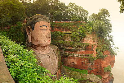 Leshan, China - p1259m1064604 von J.-P. Westermann