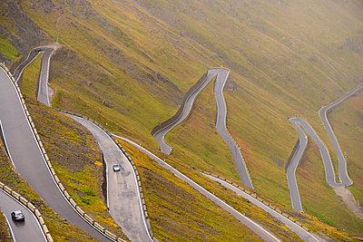 Italy, South Tyrol, Ortler Alps, Passo dello Stelvio, Stelvio Pass - p300m978704f by Karl Thomas