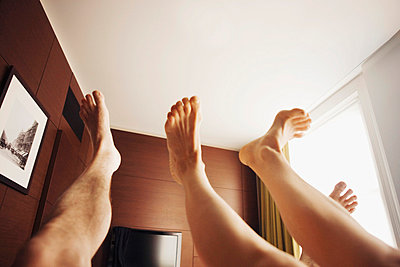 Feet up in the air - p312m672791 by Bruno Ehrs