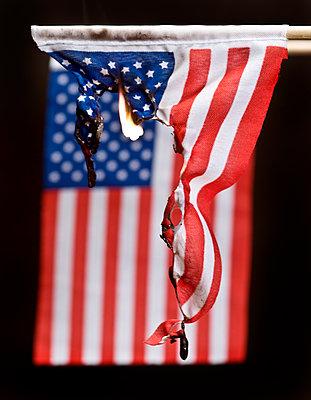 Amerikanische Flagge - p265m1183329 von Oote Boe