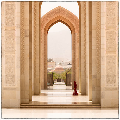 Große Sultan-Qabus-Moschee - p1154m2022434 von Tom Hogan
