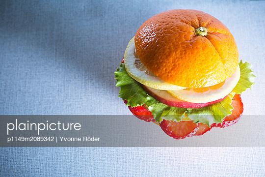 Veggie Burger - p1149m2089342 by Yvonne Röder