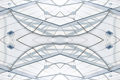 Abstract Kaleidoscope Salzburg Airport - p401m2210951 by Frank Baquet