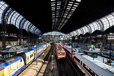 Central Station Hamburg - p834m2099191 by Jakob Börner