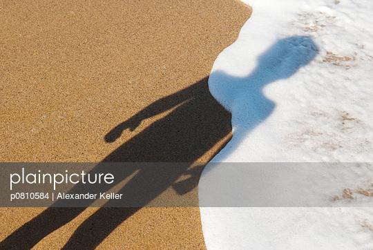Kind am Meer - p0810584 von Alexander Keller