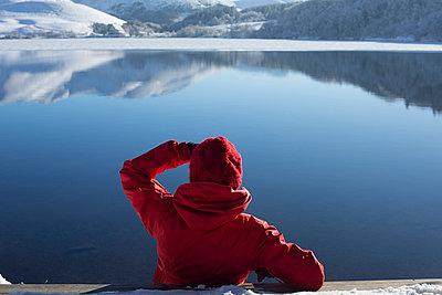 Lac de Guéry, Auvergne - p445m962790 by Marie Docher