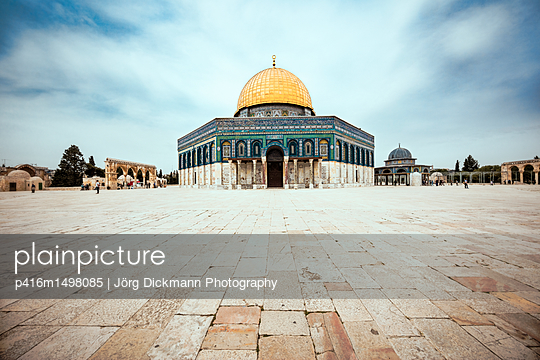 Jerusalem - p416m1498085 von Jörg Dickmann Photography