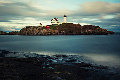 Cape Neddick 'Nubble' Light - p3300438 by Harald Braun