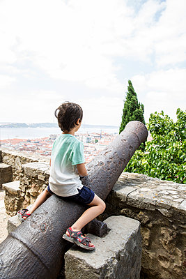 Lisbon - p535m2093586 by Michelle Gibson