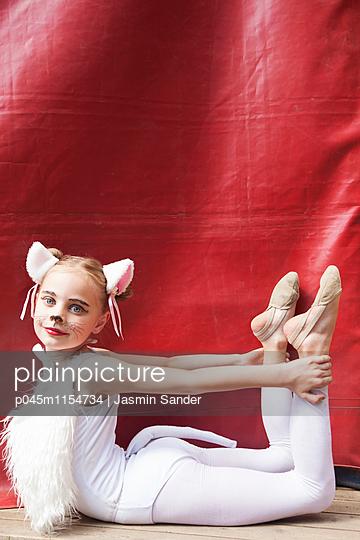 Biegsame Zirkuskatze - p045m1154734 von Jasmin Sander