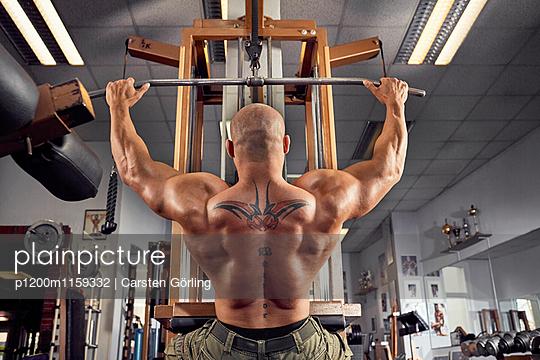Bodybuilding - p1200m1159332 von Carsten Görling