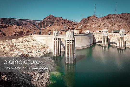 Hoover Dam, Clark County - p1275m1090713 von cgimanufaktur