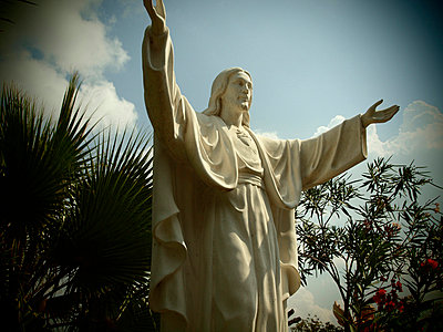 Jesusfigur - p1320617 von Peer Hanslik