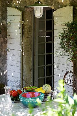 Terrace door - p778m856611 by Denis Dalmasso