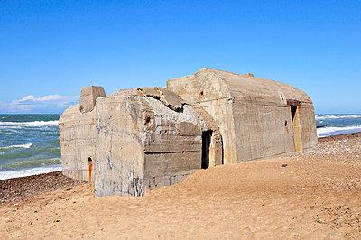 Bunker in Dänemark - p7150086 von Marina Biederbick