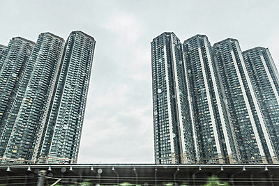 Rows of apartment blocks - p429m898291 by Alan Graf