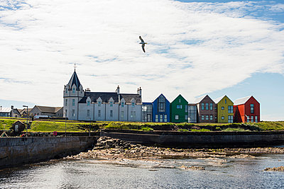 John o' Groats, Schottland, Hafen - p1142m966102 von Runar Lind