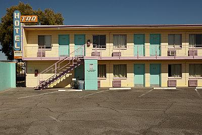 Hotel Tod in Las Vegas, leider abgerissen ... - p1525m2087421 von Hergen Schimpf