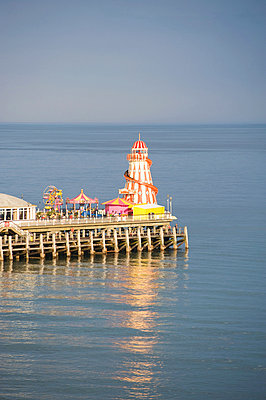 Bournemouth pier - p9244159f by Image Source