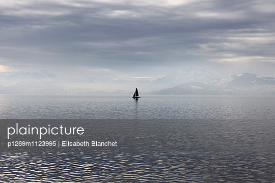 Zug Lake - p1289m1123995 by Elisabeth Blanchet