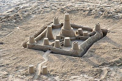 Sandcastle - p0600142 by Dieter John