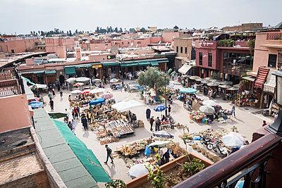 Market in Marrakesh - p930m1574246 by Ignatio Bravo