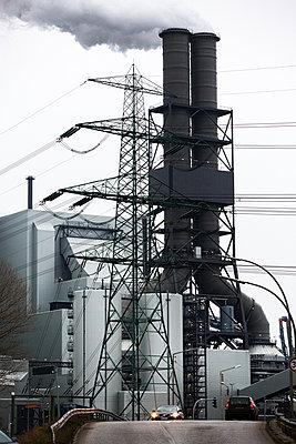 Das Vattenfall Kraftwerk Moorburg - p979m1036197 von Fred Dott