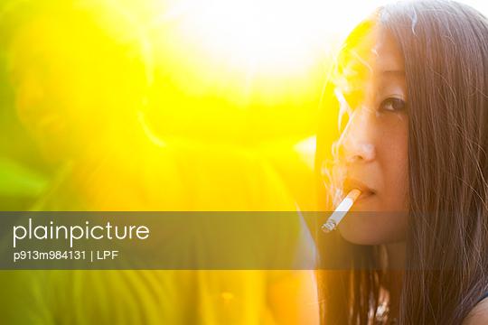 Rauchen - p913m984131 von LPF