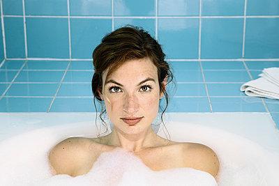 Entspannung in der Badewanne - p6560027 von W. Hannes