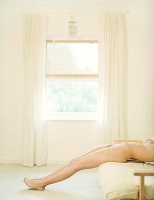 Nude by Window - p1072m829388 by Neville Mountford-Hoare
