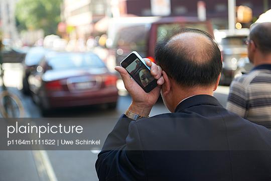 New York City, Facetime - p1164m1111522 von Uwe Schinkel