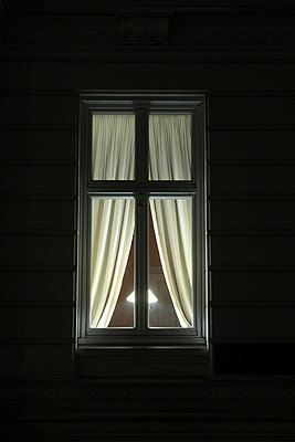 Window at Night - p629m815378 by C. A. Vogel
