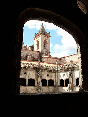 Monastery courtyard - p1499m2038661 by Marion Barat