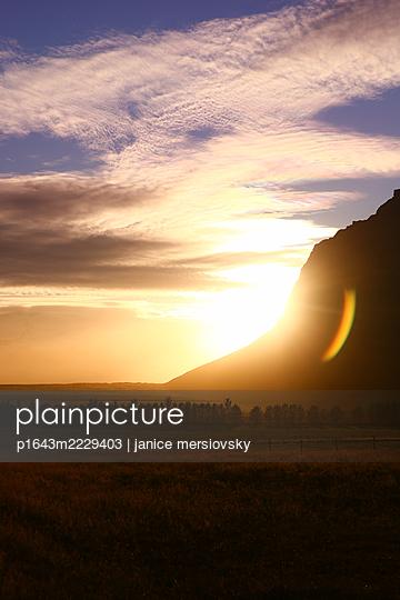 Sunrise, Iceland - p1643m2229403 by janice mersiovsky