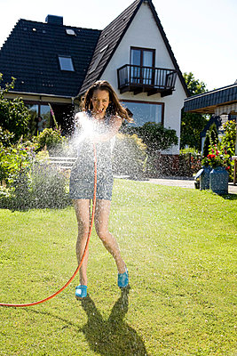 Water hose - p6420009 by brophoto