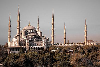 Blaue Moschee - p1062m871876 von Viviana Falcomer