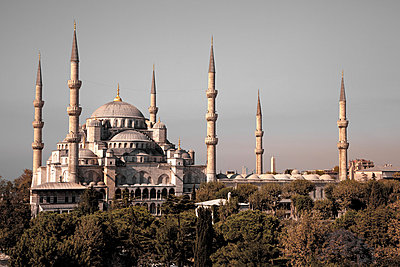 Blue Mosque - p1062m871876 by Viviana Falcomer