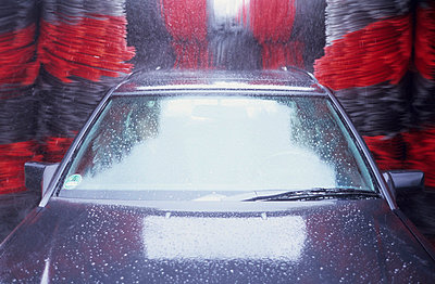 Car wash - p2360765 by tranquillium