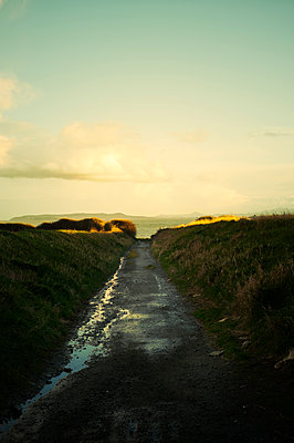 Weg zum Meer - p470m1134354 von Ingrid Michel