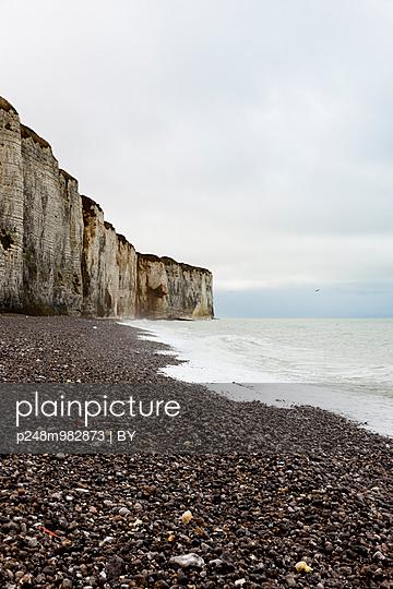 Steilklippe, Alabasterküste, Normandie - p248m982873 von BY