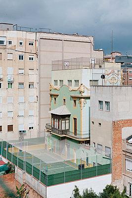Innenhöfe Barcelona - p1683m2272032 von Luisa Zanzani