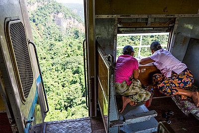 Looking out of the window - p1208m1007488 by Wisckow