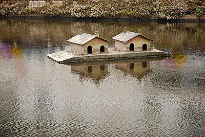 Hausboote für Vögel - p2600181 von Frank Dan Hofacker